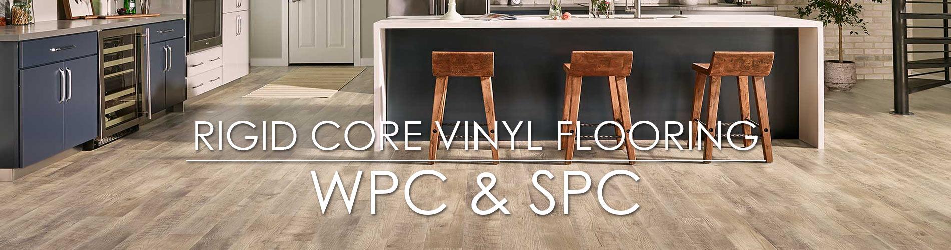 Rigid Core Luxury Vinyl: WPC & SPC
