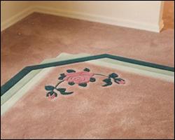 New living room carpet