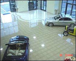 Showroom tile