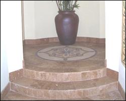 New tile steps